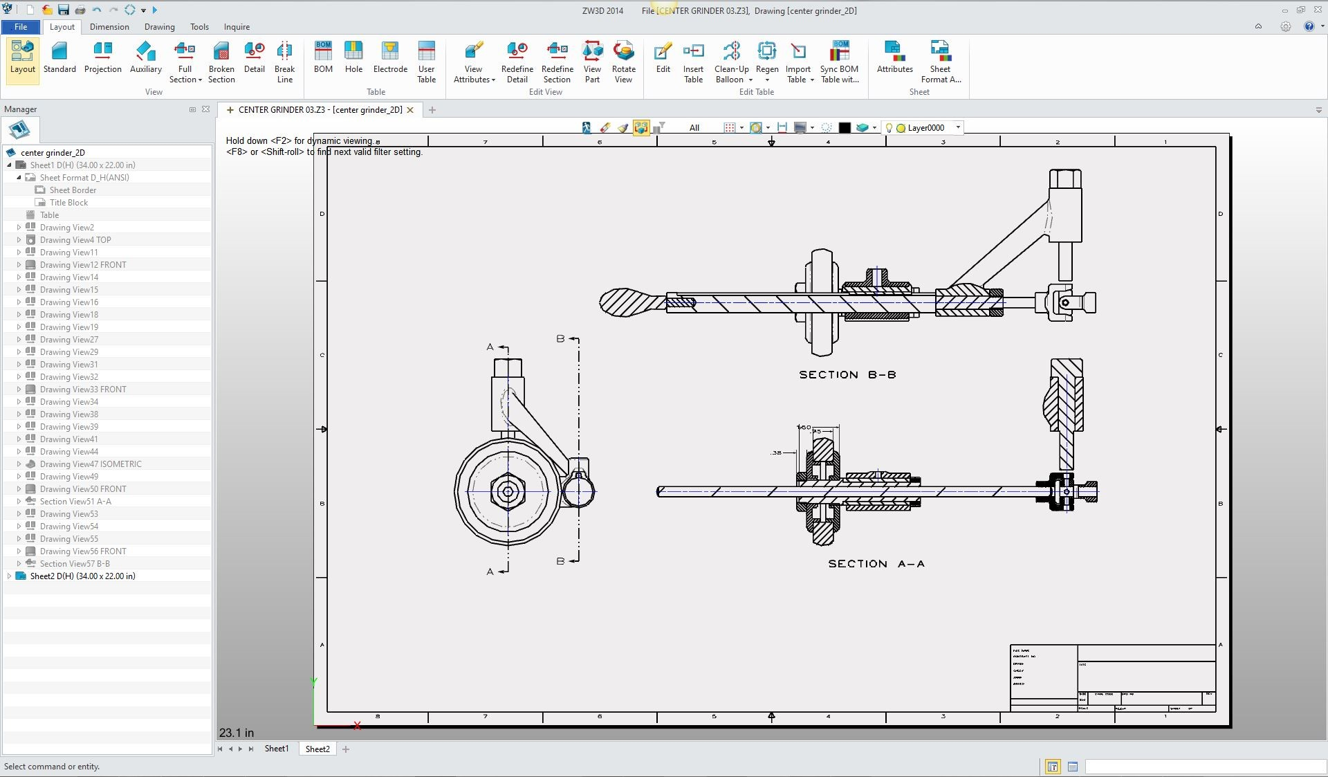 The integrated aid drawing in 3d cad we can also do it with the assembly here are a couple of sheets defining the assembly notice all the sheets are in the same file defined by tabs on the ccuart Choice Image