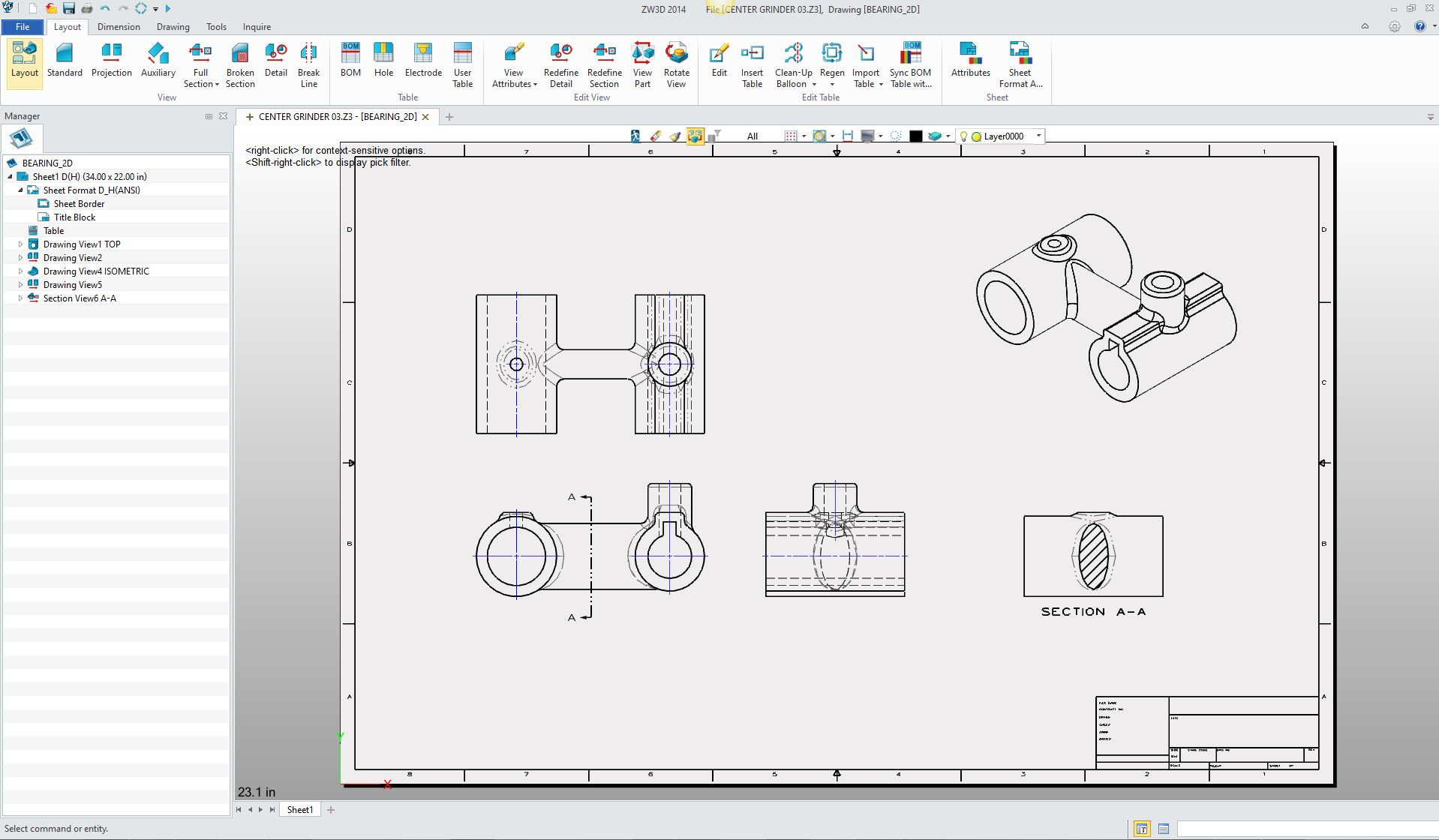 The death of the drawing for 2d blueprint maker