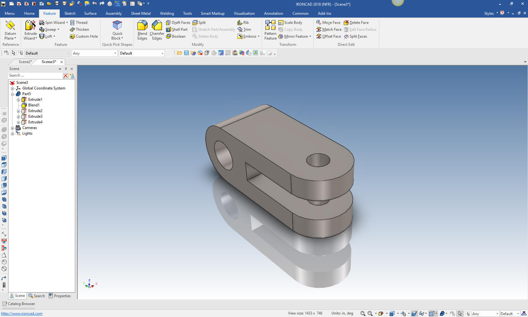 IronCAD vs Fusion 360 Lesson 15