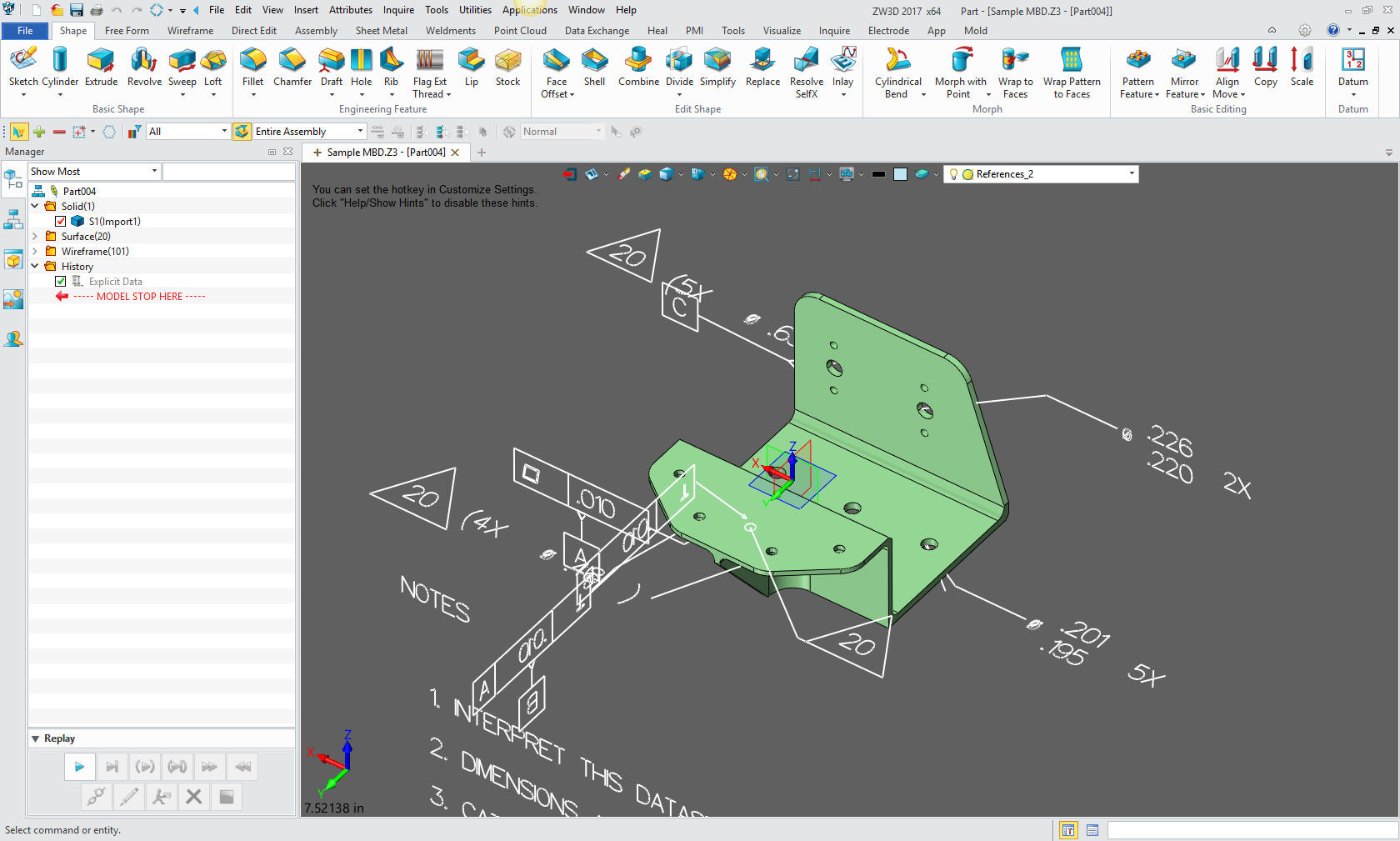Free pmi importer below is an example of a catia 5 file with pmi 1betcityfo Image collections